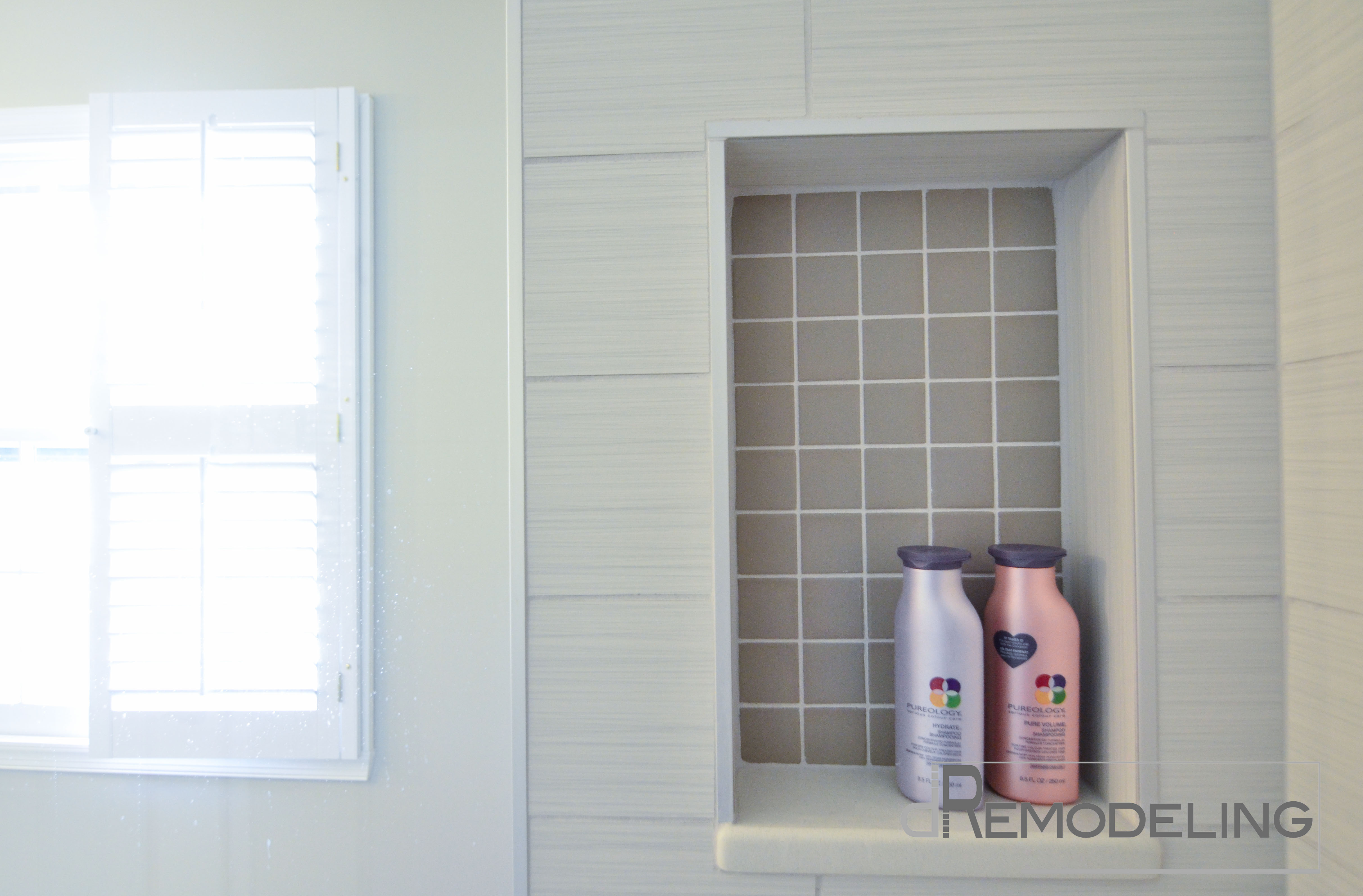 Using Metal Edge Trim In The Bathroom