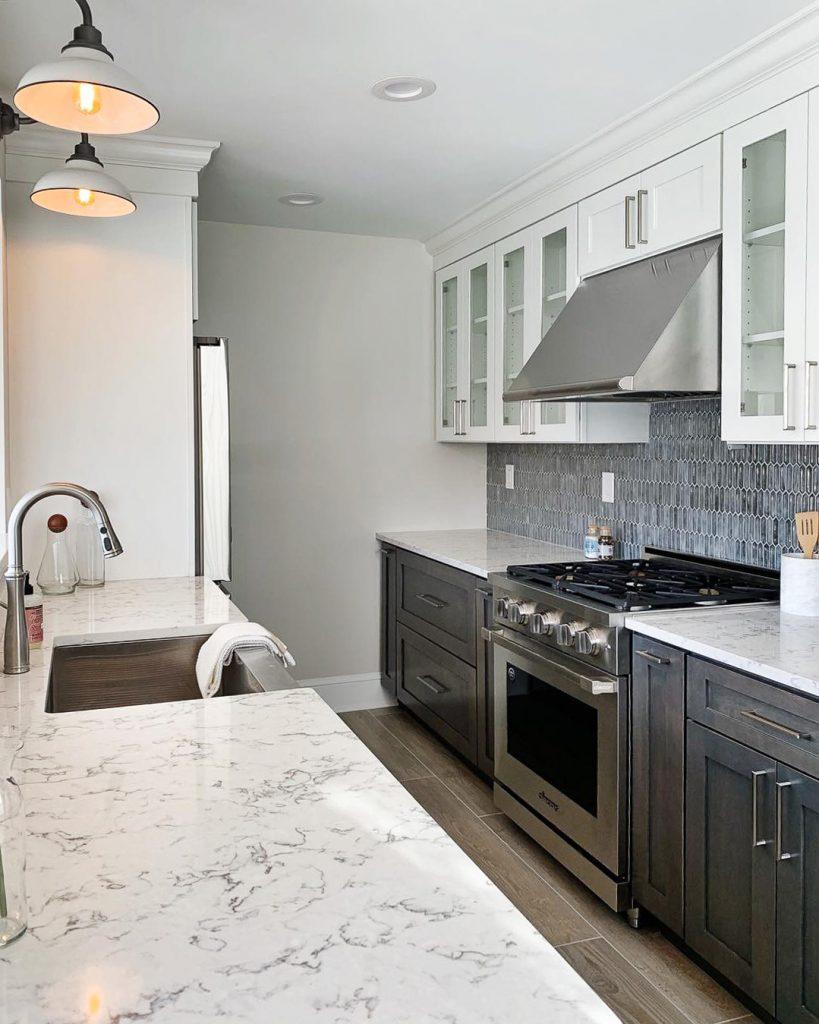 Modern Stainless Steel Kitchen Renovation
