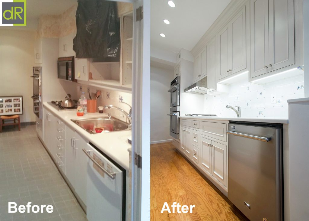 French Country Inspired Galley Kitchen Remodel